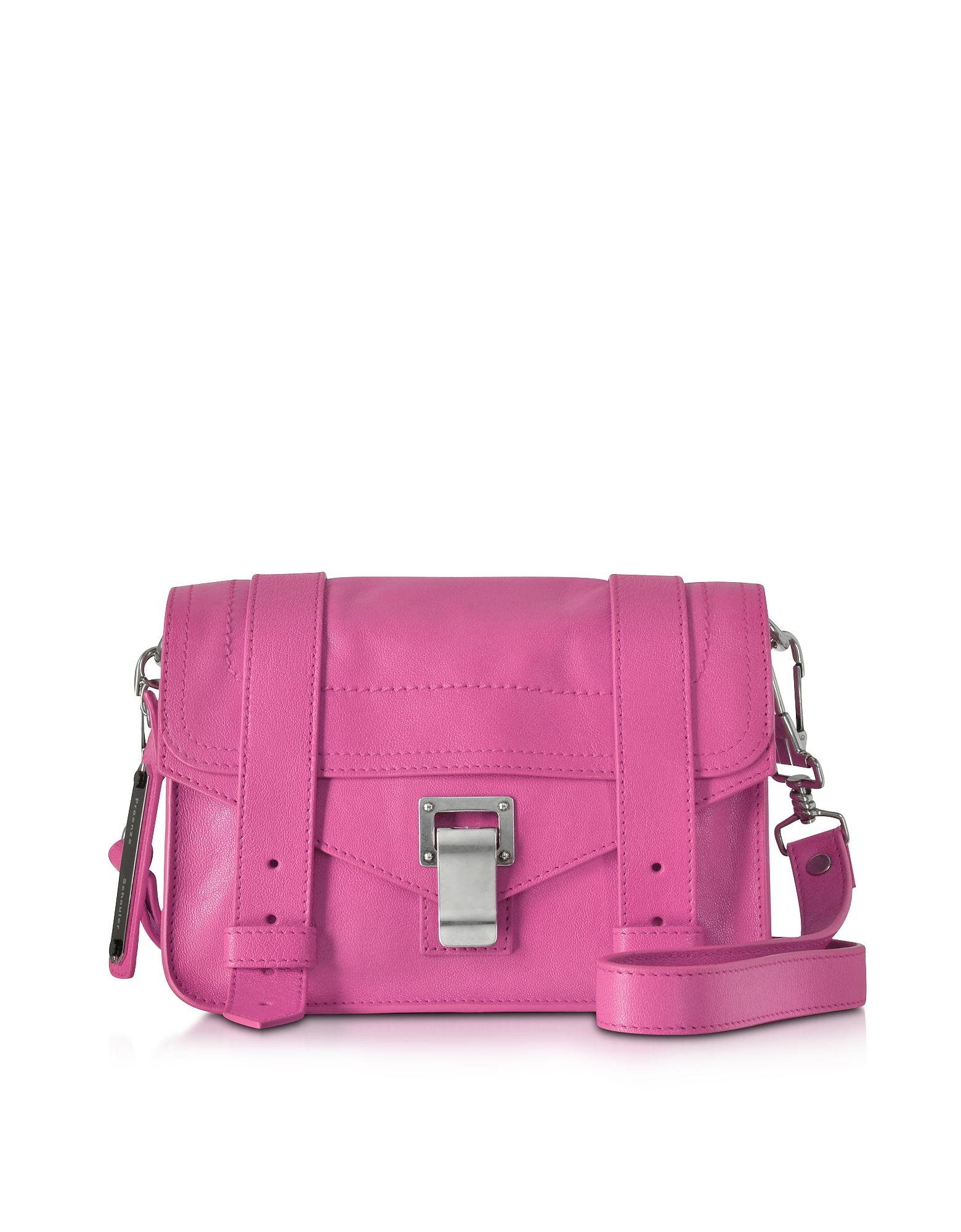 Proenza Schouler Handbags, Lux Leather Ps1 Mini Crossbody