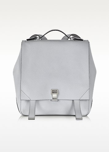 Icy Pearl Courier Backpack - Proenza Schouler