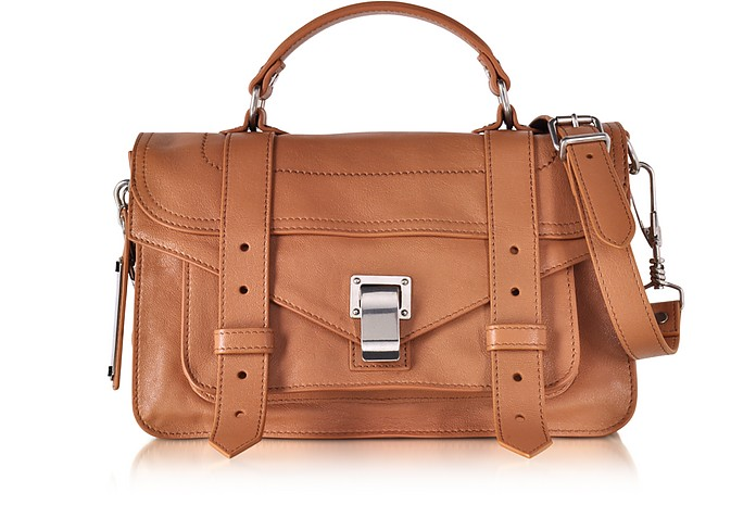 PS1 Tiny Dune Lux Leather Satchel Bag - Proenza Schouler