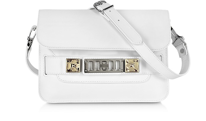 PS11 Mini Classic Smooth Leather Shoulder Bag - Proenza Schouler