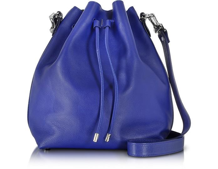 Ultramarine Leather Large Bucket Bag - Proenza Schouler / プロエンザ スクーラー