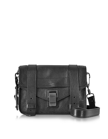 PS1 Mini Black Lux Leather Crossbody