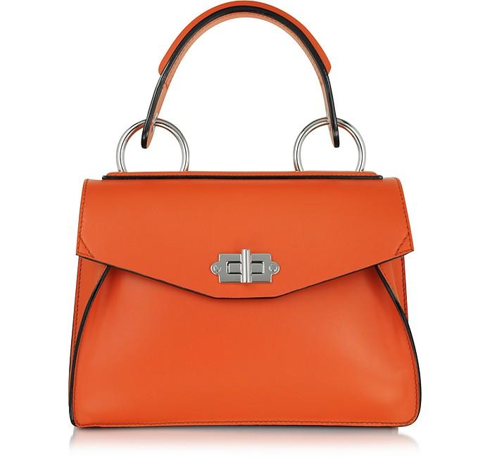 Small Hava Pumpkin Smooth Leather Top Handle Bag - Proenza Schouler