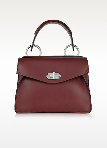 Small Hava Midnight Plum Smooth Leather Top Handle Bag - Proenza Schouler