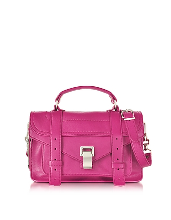 PS1 Tiny Peony Lux Leather Satchel Bag