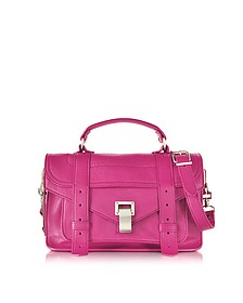 PS1 Tiny Peony Lux Leather Satchel Bag - Proenza Schouler