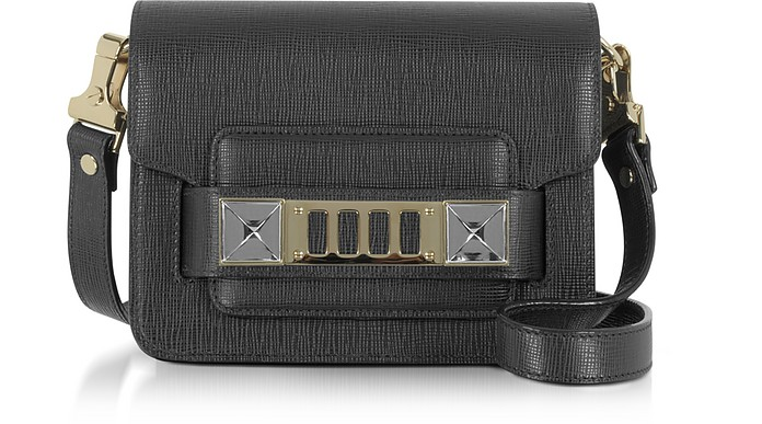 Ps11 Black New Linosa Leather Crossbody Bag