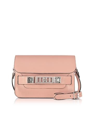 Proenza Schouler PS11 Mini Classic Deep Blush New Linosa Leather Shoulder Bag