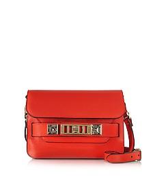 PS11 Mini Classic True Red New Linosa Leather Shoulder Bag - Proenza Schouler