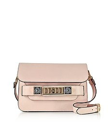PS11 Mini Classic Rose Quartz New Linosa Leather Shoulder Bag - Proenza Schouler