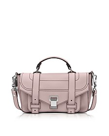 PS1 + Tiny Rose Quartz Leather Flap Handbag - Proenza Schouler