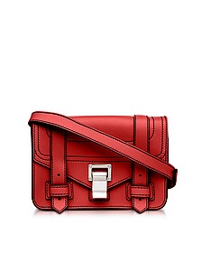 PS1+ Cardinal Grainy Leather Mini Crossbody Bag - Proenza Schouler