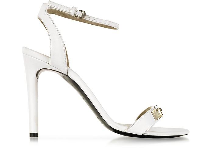 White Leather Sandal - Proenza Schouler