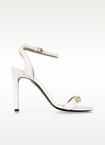 White Leather Sandal - Proenza Schouler