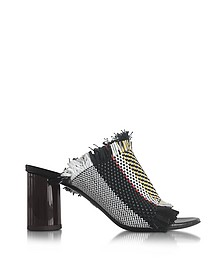 Ginepro Woven Leather High Heel Slide - Proenza Schouler