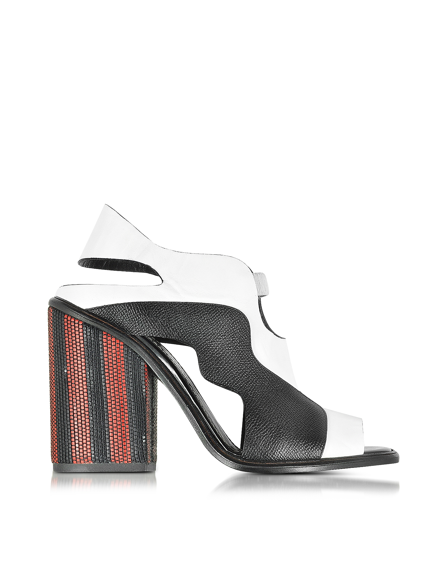 Proenza Schouler Shoes, Color Block High Heel Sandal