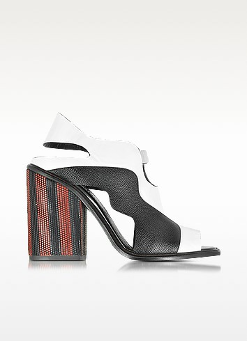 Color Block High Heel Sandal - Proenza Schouler