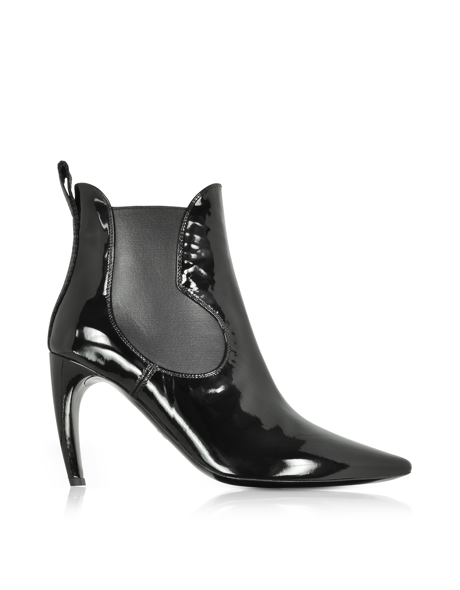 Proenza Schouler Shoes, Black Patent Leather Boots
