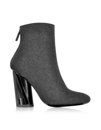 Lux-ID 284031 Black Felt Boot