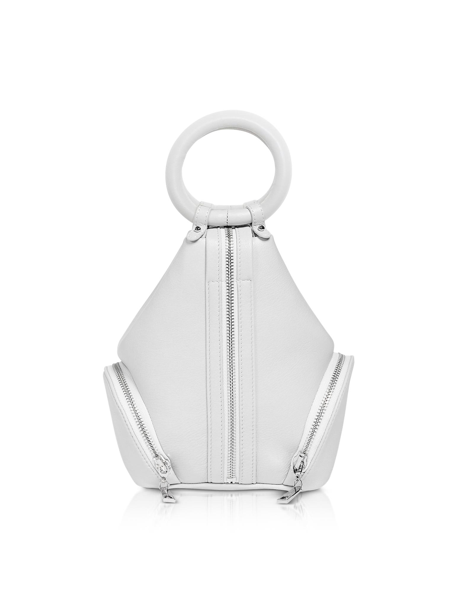 Eve Micro Bag in Pelle Ecru