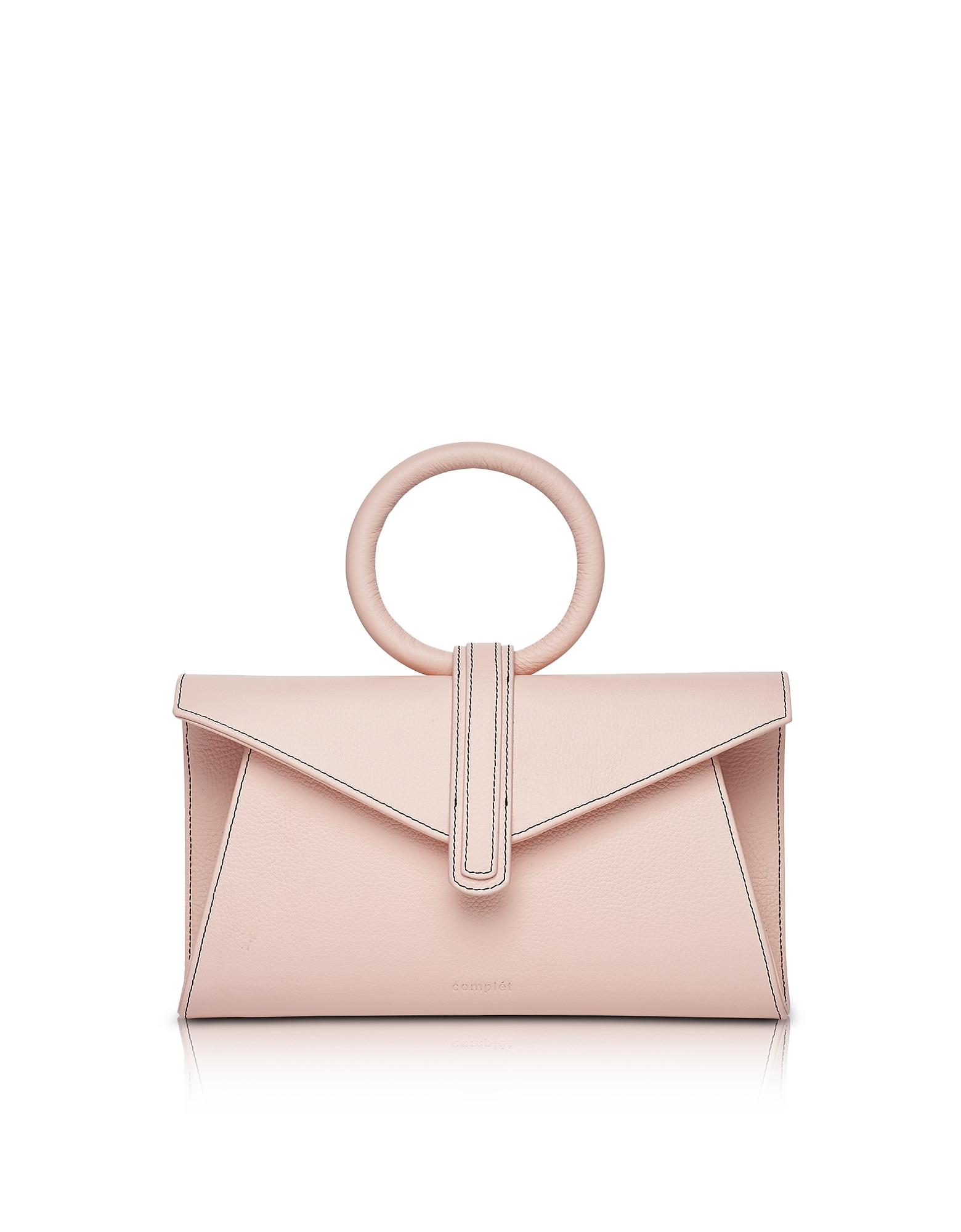 Complet Handbags, Valery Mini Clutch Bag w/Shoulder Strap