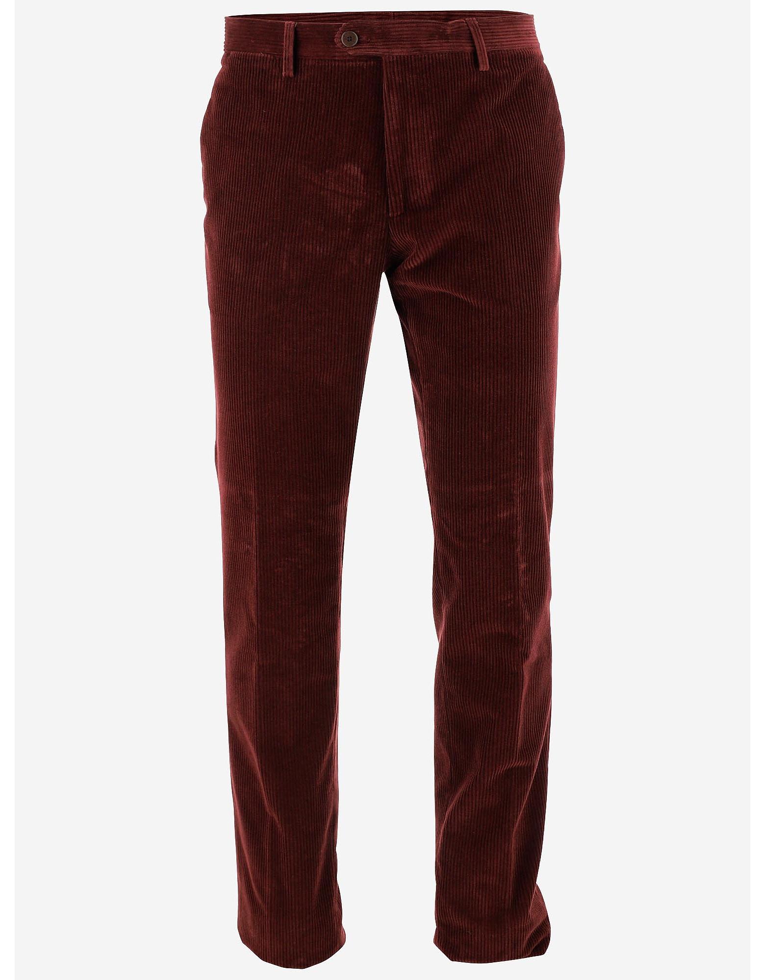 Etro Designer Pants, Men's Straight Pants