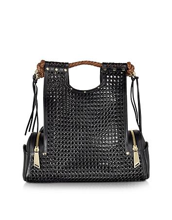 Priscilla New Black Bentota Tote Bag