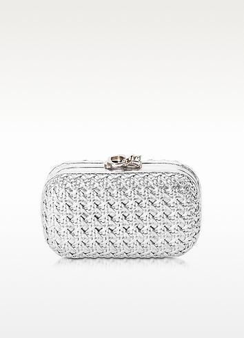 Susan C Star Silver Bentota Haribo Pochette w/Chain Strap - Corto Moltedo