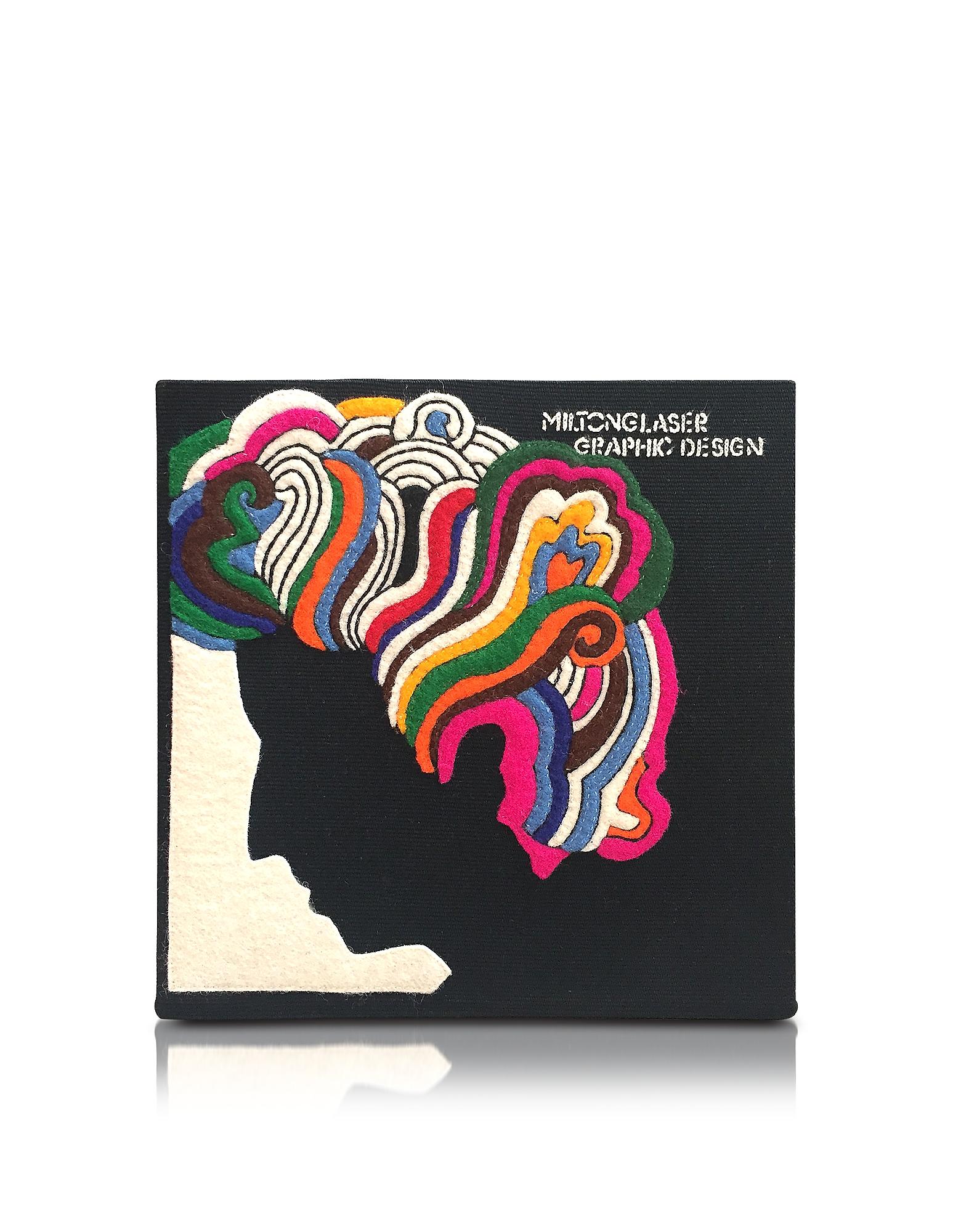 Фото Milton Glaser - Клатч Книжка из Меди с Покрытием из Ткани. Купить с доставкой