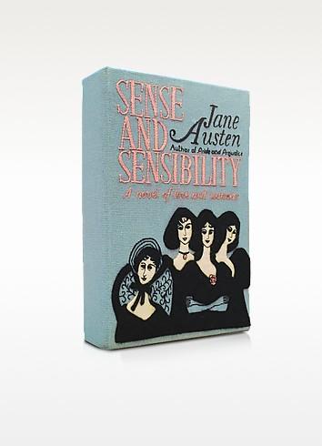 Sense and Sensibility Cotton Book Clutch - Olympia Le-Tan
