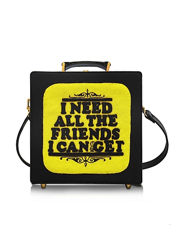 7 Inch I Need All The Friends I Can Get Cotton Handbag