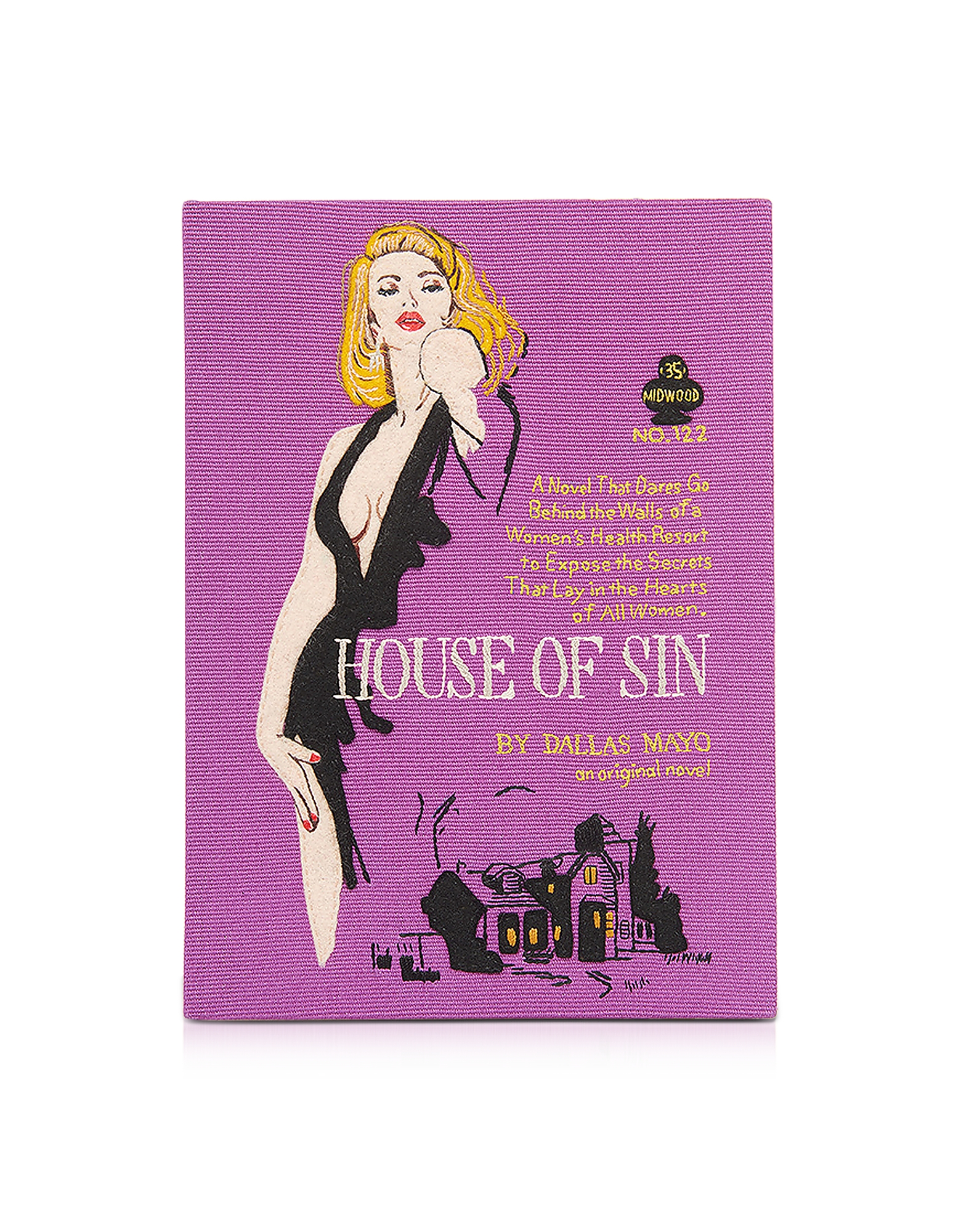 Olympia Le-Tan Handbags, House of Sin Book Clutch