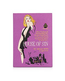 House of Sin Book Clutch - Olympia Le-Tan