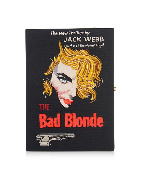 Olympia Le-Tan The Bad Blonde Strapped Book Clutch