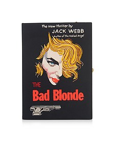 The Bad Blonde Strapped Book Clutch - Olympia Le-Tan