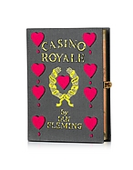 Olympia Le-Tan Casino Royale Book Clutch
