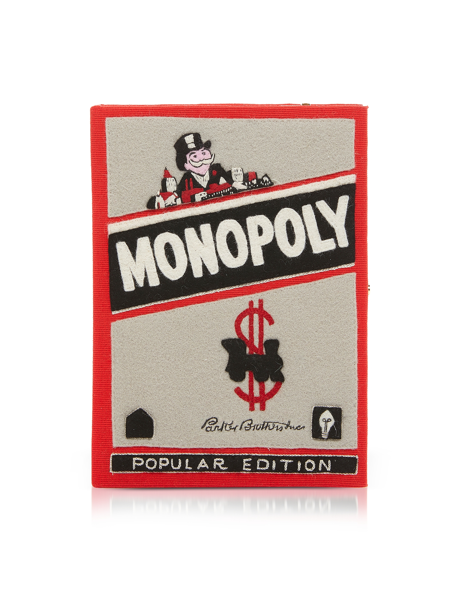 Cotton and Wool Monopoly Book Clutch
