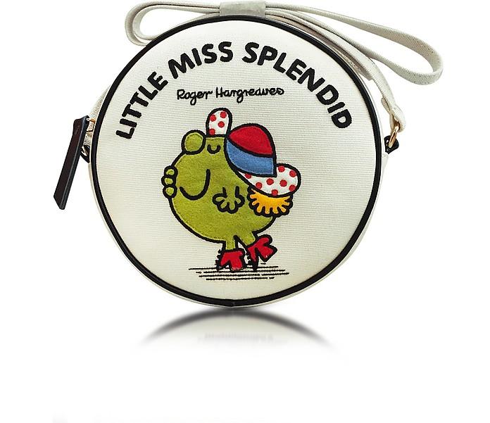 Dizzie Little Miss Splendid Cotton Round Crossbody Bag - Olympia Le-Tan