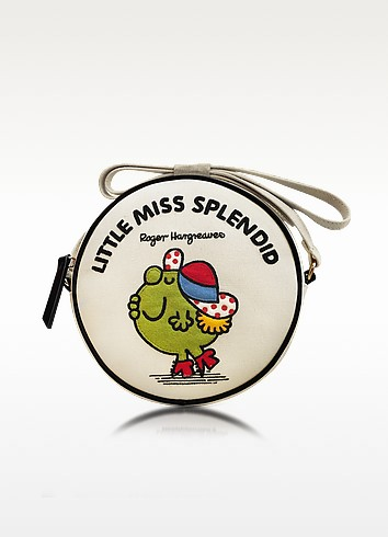 Dizzie Little Miss Splendid Cotton Round Crossbody Bag - Olympia Le-Tan