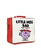 7 Inch Little Miss Bad Cream Cotton & Leather Handbag - Olympia Le-Tan