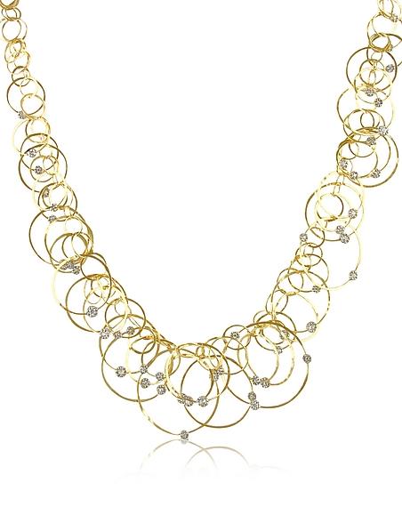 Foto Orlando Orlandini Scintille Anniversary - Collier in Oro 18ct e Diamanti Collane