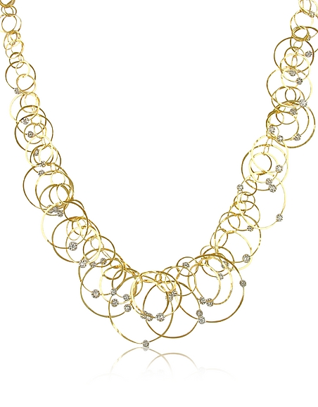 Orlando Orlandini Scintille Anniversary - Collier en or 750/1000 et diamants