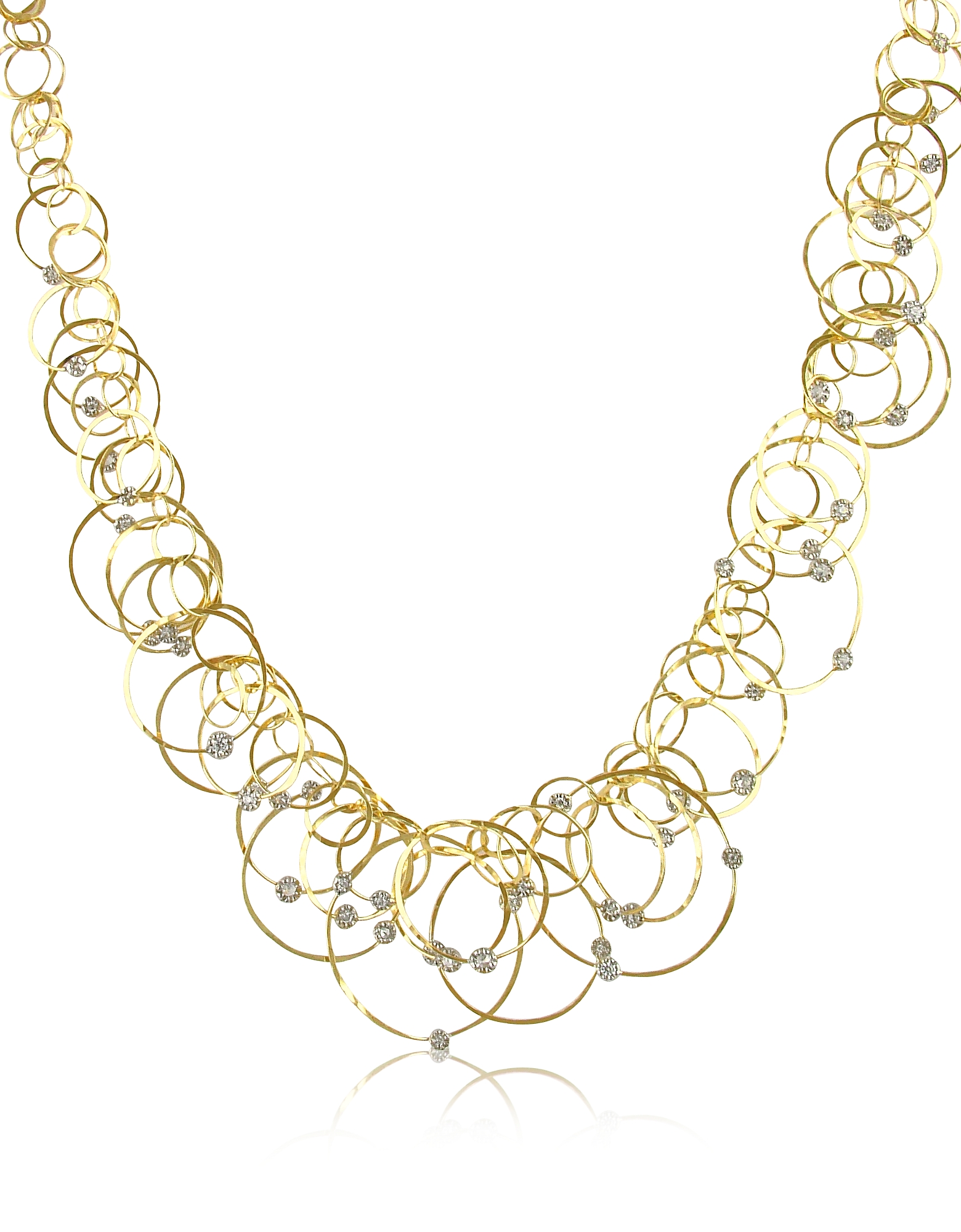 Scintille Anniversary – Diamond 18K Yellow Gold Necklace