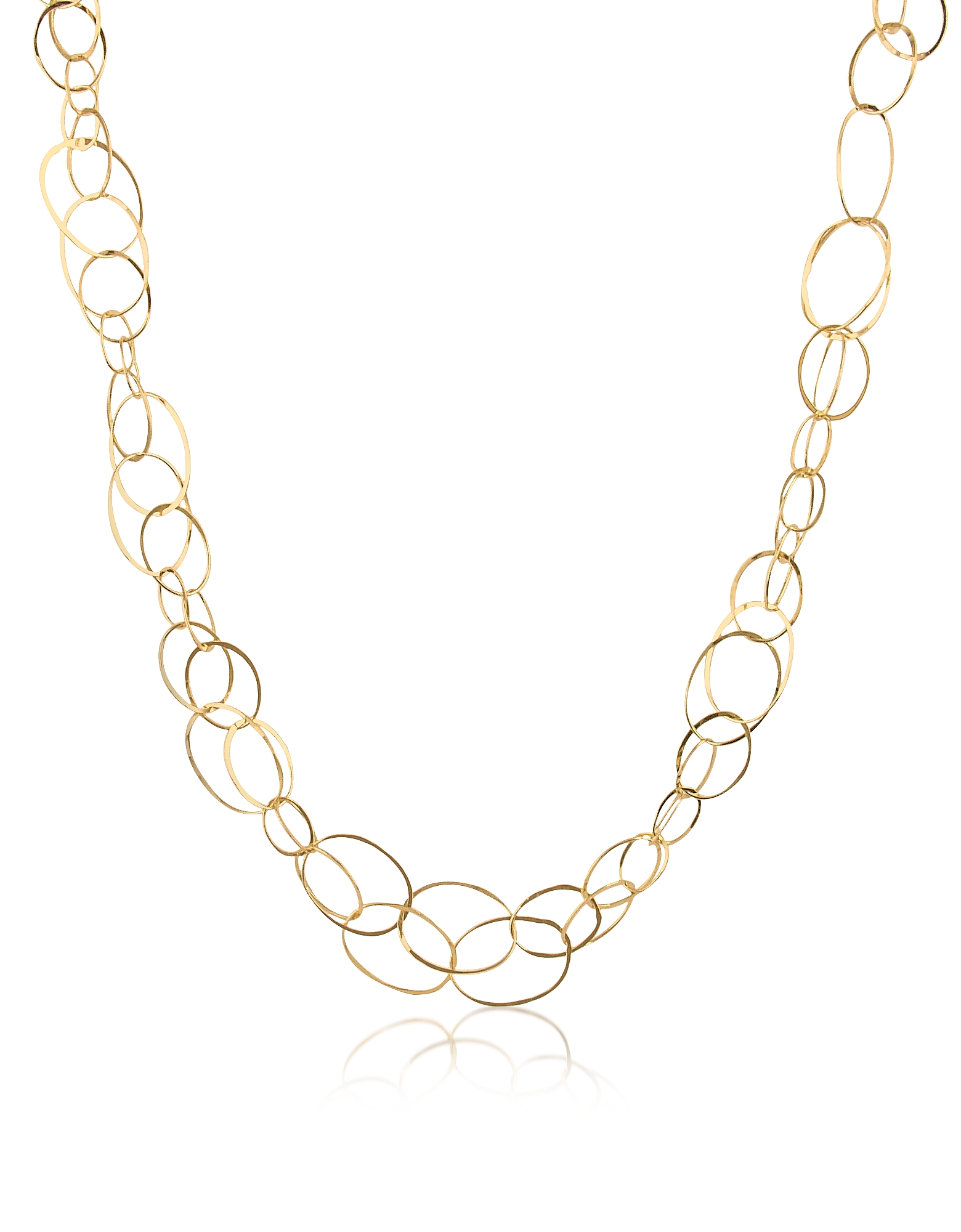 Orlando Orlandini Necklaces, Scintille - 18K Yellow Gold Chain Necklace