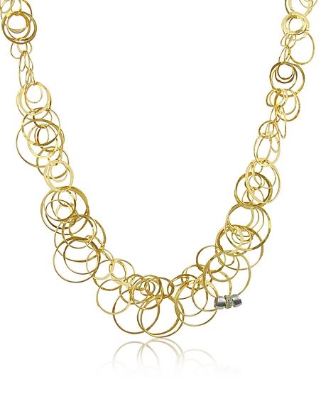 Orlando Orlandini Scintille - Collier en or 750/1000 et diamants