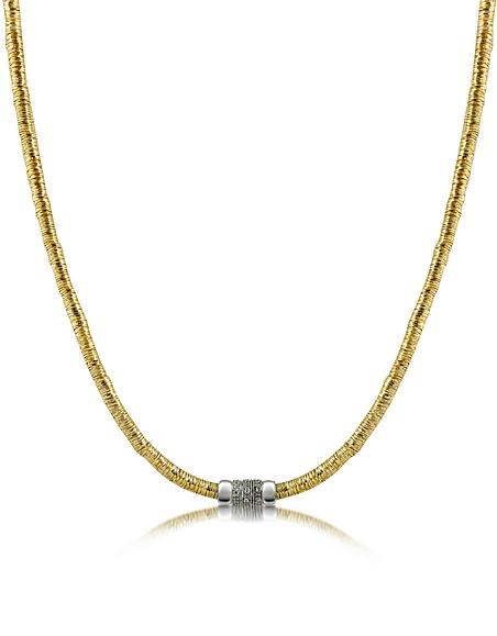 Orlando Orlandini Capriccio - Collier en or 750 jaune et diamants