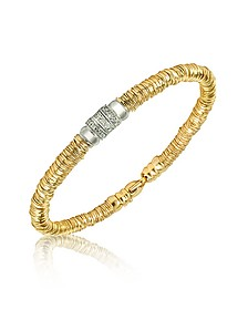 Capriccio - Diamond 18K Gold Chain Snake Bracelet - Orlando Orlandini