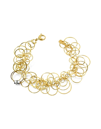 Orlando Orlandini - Scintille - Diamond 18K Yellow Gold Bracelet