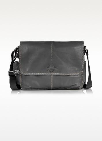 Desperado Ew - Leather Laptop Messenger Bag - Fossil