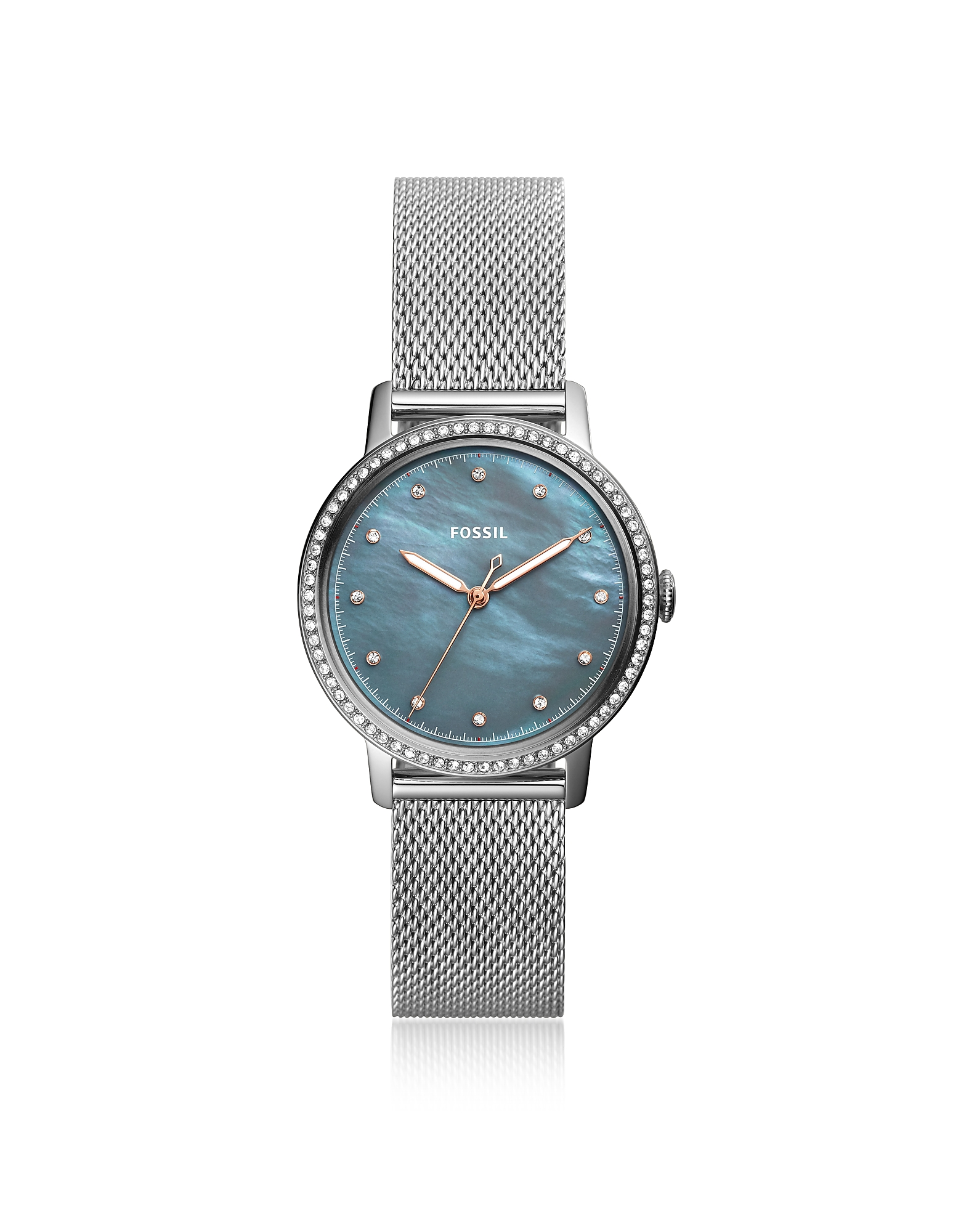 Fossil Women's Watches, Neely Three Hand Stainless Steel Crystal Women's Watch